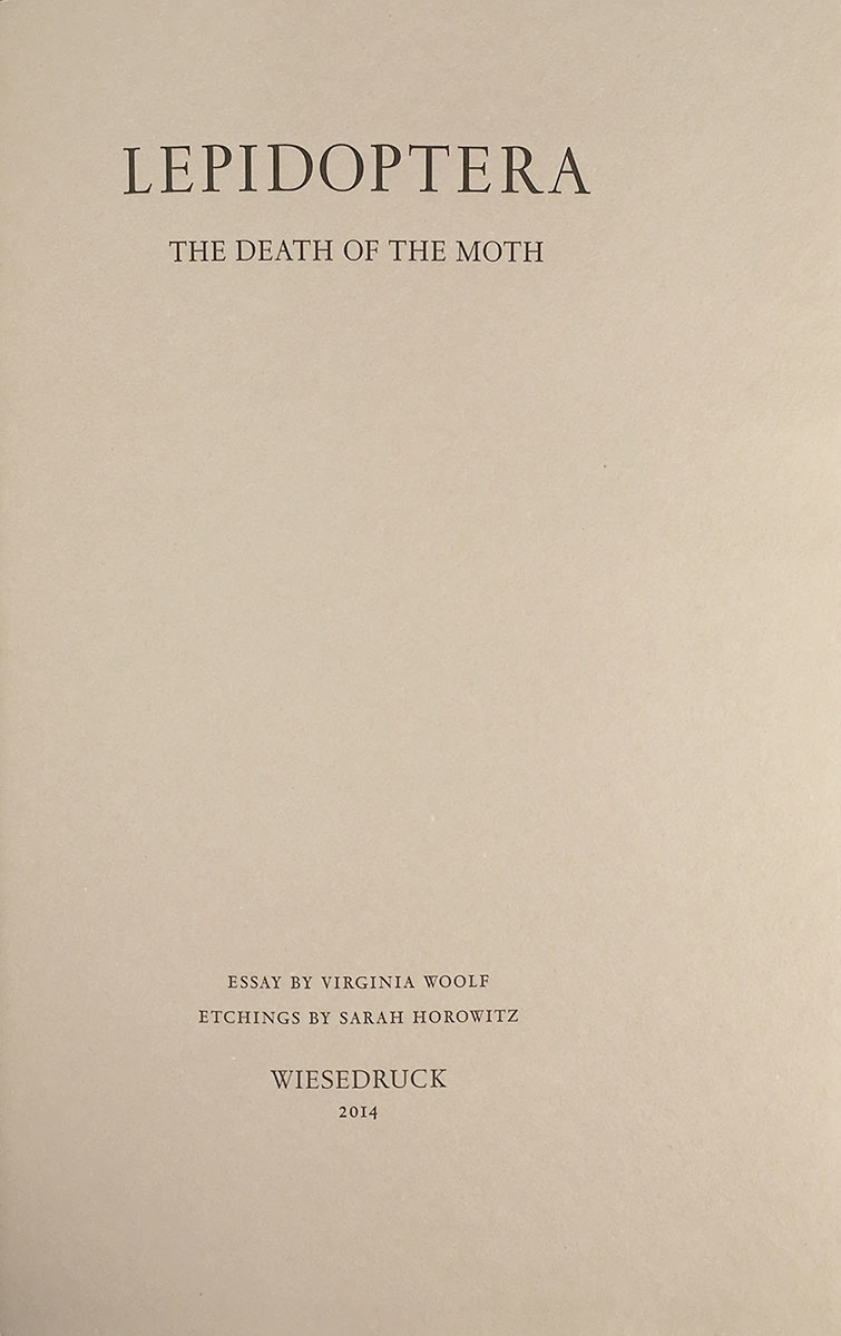 Lepidoptera  The Death Of The Moth Essay By Virginia Woolf  Lepidoptera  The Death Of The Moth Essay By Virginia Woolf Etchings By  Sarah Essay Of Newspaper also Essay For Health  General English Essays