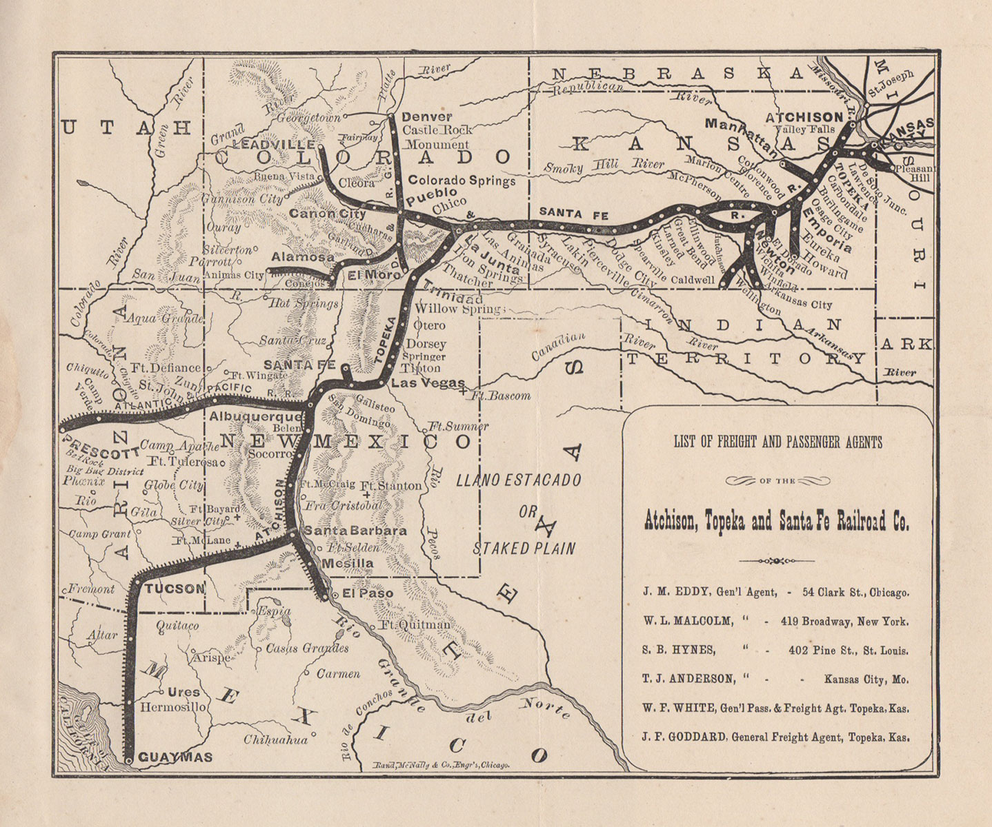 Map Of Arizona 1880.Arizona Illustrated History Mining Railroads Lands Facts For