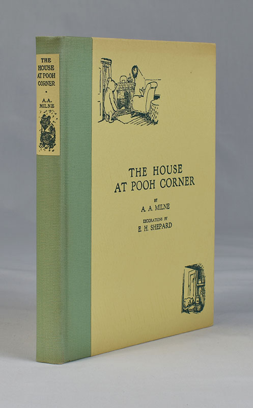 The House at Pooh Corner…Decorations by E. H. Shepard. A. A. Milne.