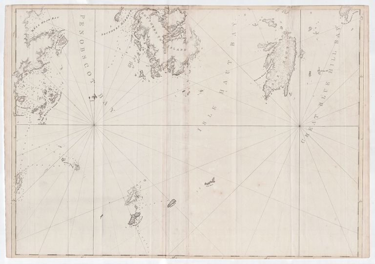 [Penobscot Bay to Blue Hill Bay, Maine]. J. F. W. Des Barres.