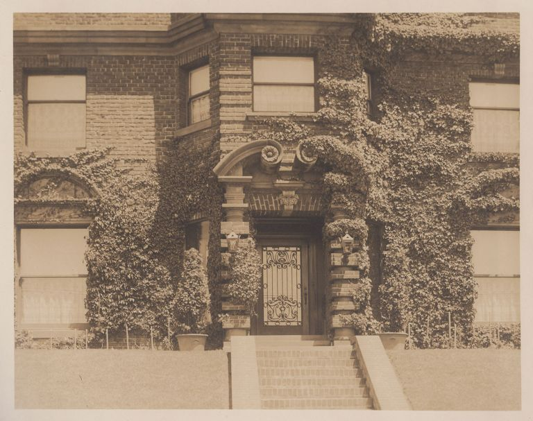 Residence of Herman Shainwald 2800 Pacific Ave. San Francisco, Cal. [cover title].