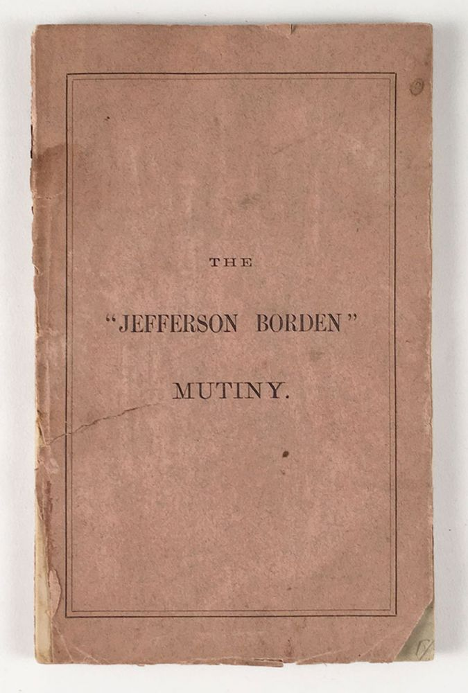 The Jefferson Borden Mutiny. Trial of George Miller, John Glew and William Smith for Murder on the High Seas. Before Clifford and Lowell, JJ.