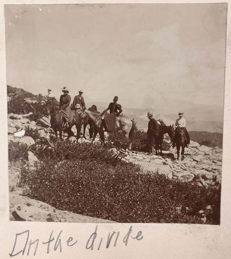 [Photo album documenting the Estes Park, Colorado.]. Frank E. Baker, anonymous photographers.