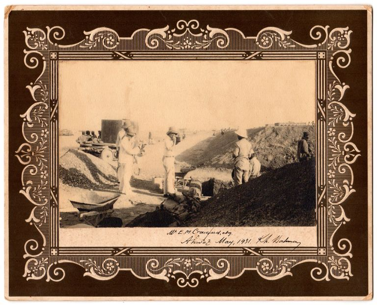[Construction of the Trans-Iranian Railway.]. Edward Miles Crawford, photographer and compiler.