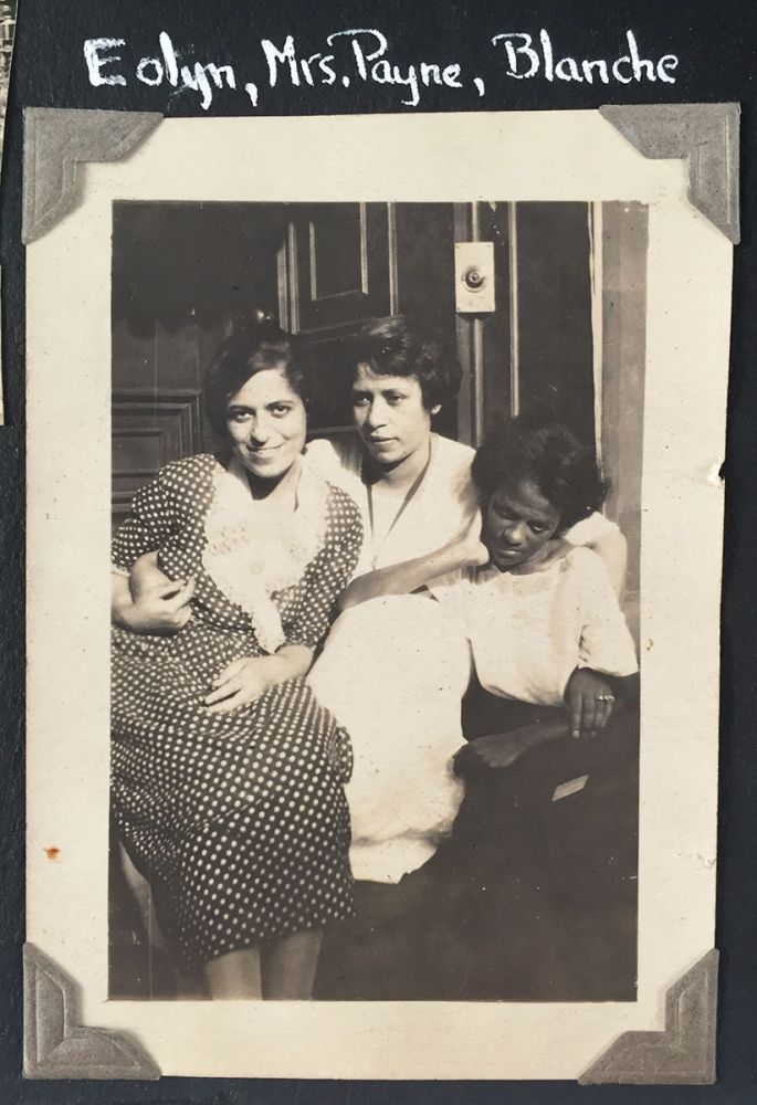 [Early Twentieth Century Photo Albums of African-American Woman Social Worker.] Photographs [cover-title]. Eolyn Carolyn Klugh Guy, David S. Klugh Sr., Harry Maurice Guy.
