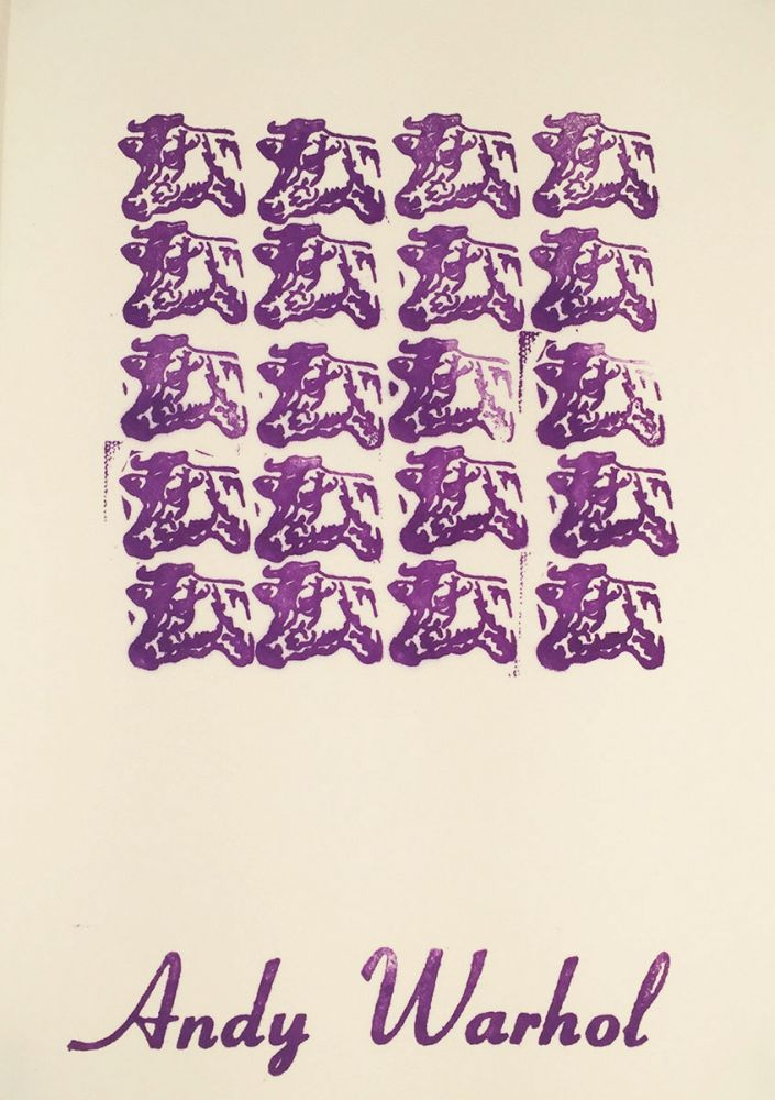 Stamped Indelibly : A Collection of Rubberstamp Prints. William Katz, and printer.