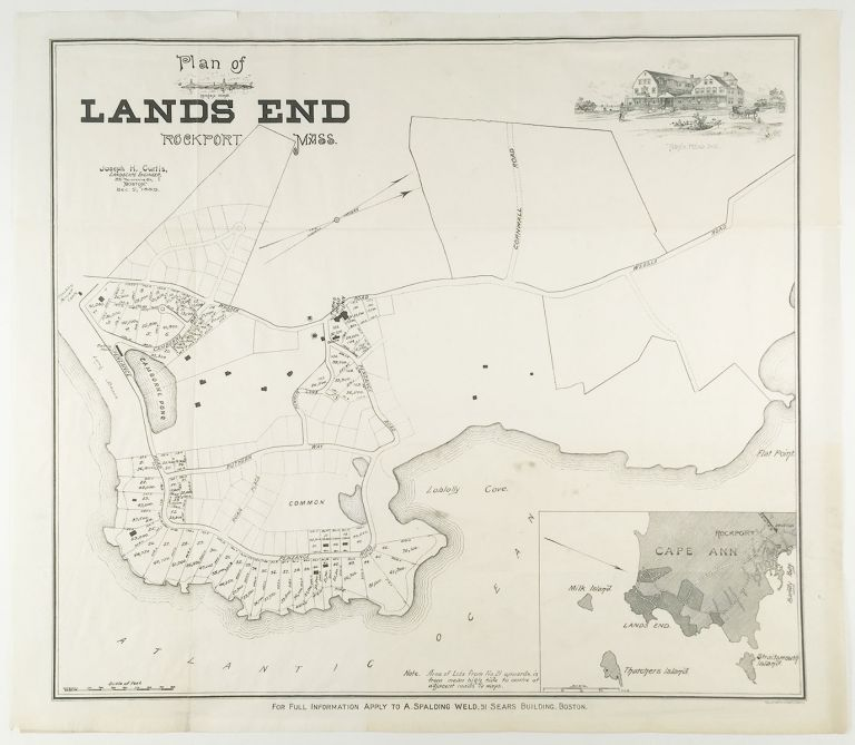 Plan of Lands End, Rockport, Mass. Joseph H. Curtis, landscape eng.