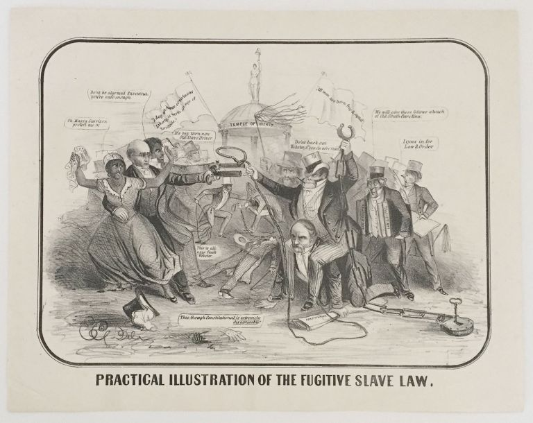 Practical Illustration of the Fugitive Slave Law. E C.