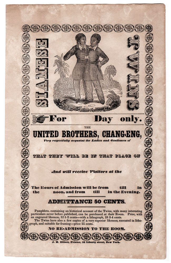 Siamese Twins: The United Brothers, Chang-Eng …