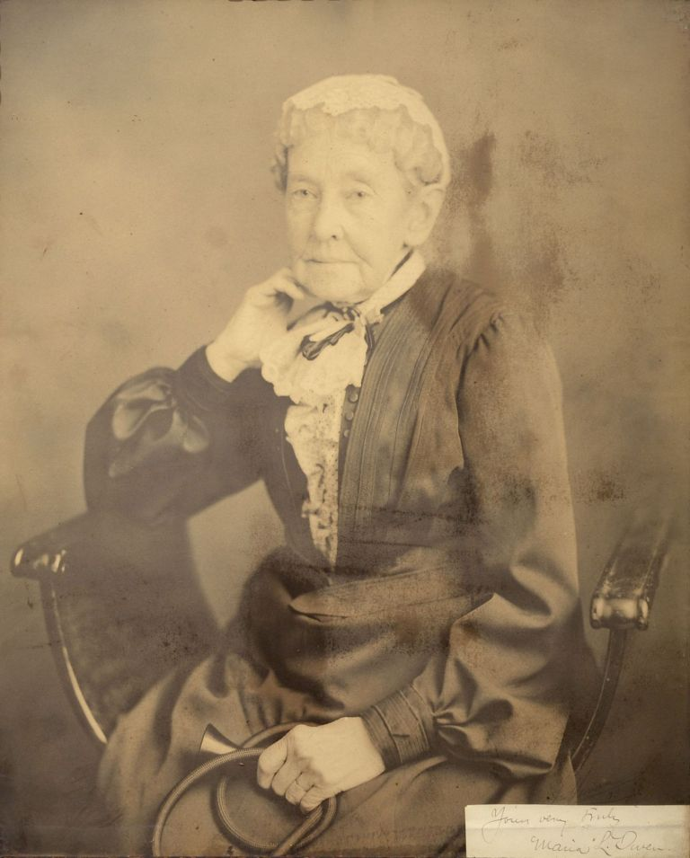 [Photo Portrait of Maria Louisa Owen.]. Jas? Homan?, photog.