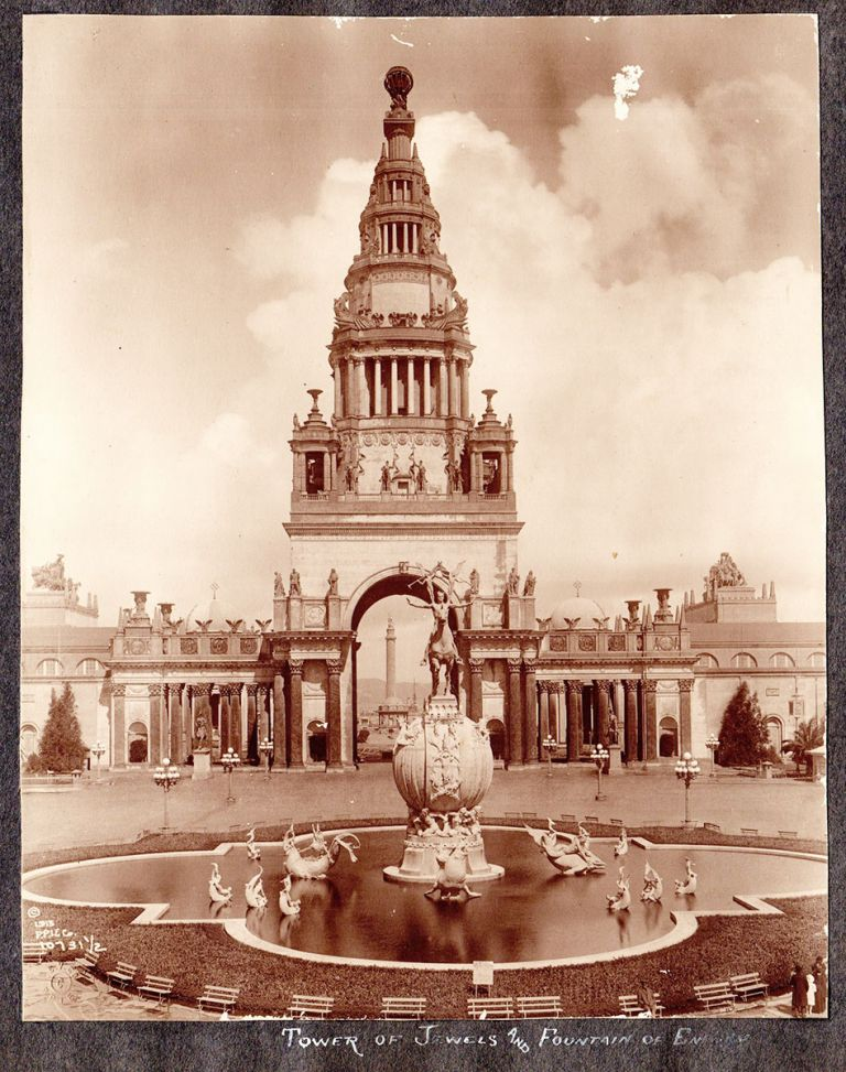 [Panama-Pacific International Exposition photo album.]. Betty Zamloch, compiler?