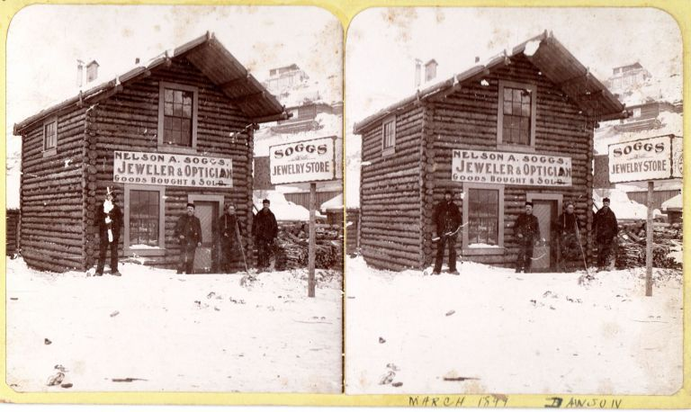 [Yukon Gold Rush photo and manuscript archive formed by a jeweler working in Dawson City.]. William H. Safford, compiler, photographer George W. Hicks.