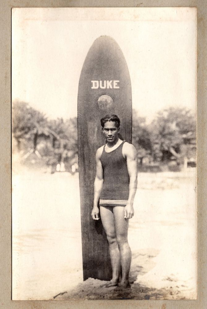 """[1920s Hawaii photo album with """"The Big Kahuna"""" content.]. Ray Jerome Baker, photographers, R. M. Clutterbuck."""