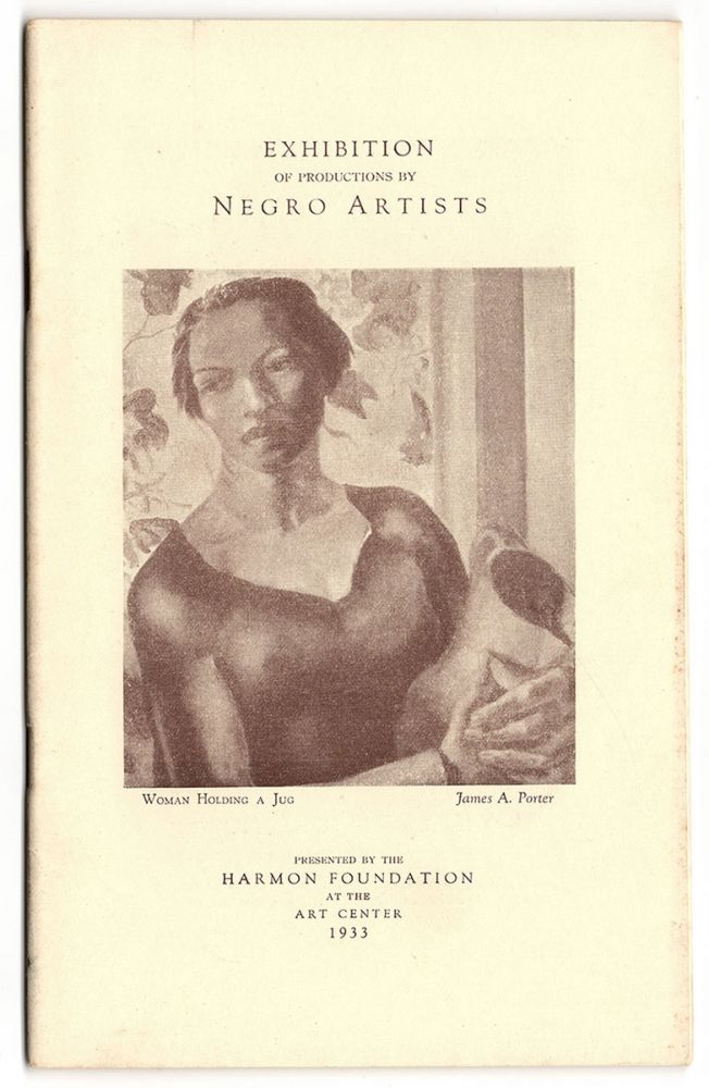 Exhibition of Productions by Negro Artists. Alain LeRoy Locke.