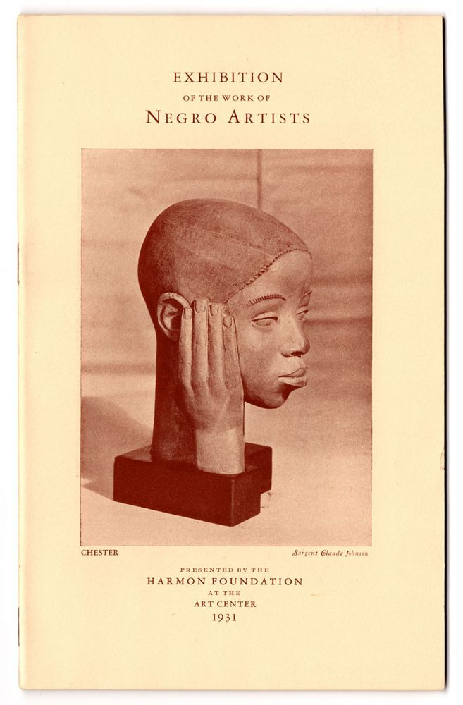 Exhibition of the Work of Negro Artists. Harmon Foundation.