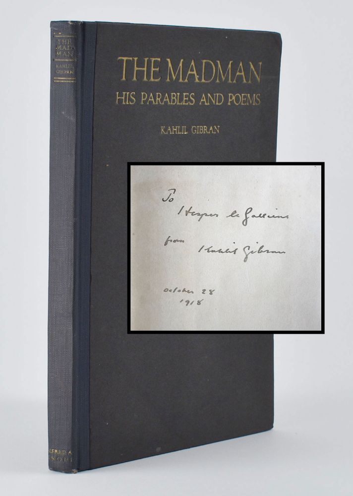 The Madman: His Parables and Poems. Kahlil Gibran.