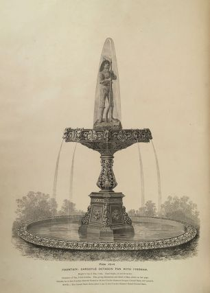 "Catalogue ""H,"" Illustrating Fountains, Ground Basins, Basin Rims, Jets, etc. manufactured by..."