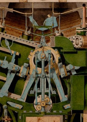 Engines of the U.S.S. Madawasca. Designed by John Ericsson. Erected 1867. Removed 1873.