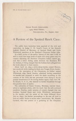A Review of the Spotted Hawk Case
