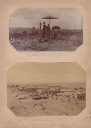 [Pair of American Scientific Expedition Photo Albums].