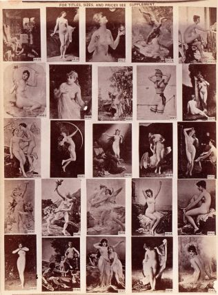 Illustrated Catalogue of Figure Studies.