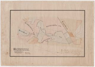 Map of Mining Ground situated on Manzanita Hill near Sweetland's as surveyed for the Manzanita Mining Co. Nov. 30th 1867. H. S. Bradley.