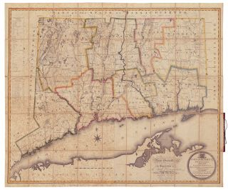 Connecticut, From Actual Survey, Made in 1811; By and under the Direction of, Moses Warren and...