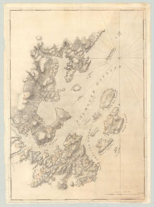 Untitled chart of present-day Portland Harbor and environs, known as Falmouth at the time of...