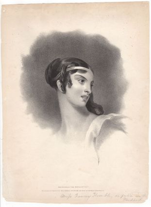 [Miss Fanny Kemble, as Julia in The Hunchback]. Thomas Sully, after.