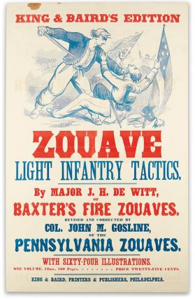 King & Baird's Edition Zouave Light Infantry Tactics.