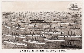 United States Navy, 1898. Herbert S. Packard, lith