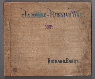 [Cover title:] Japanese Russian War 1904. [A personal album of hand-captioned stereographic photographs documenting the Russo-Japanese War, with additional captioned photographs on loose leaves].