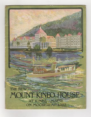 The New Mount Kineo House and Annex: At Kineo, Maine on Moosehead Lake.