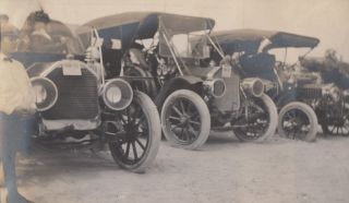 [Photo Album from Daytona Beach at the Advent of America's Automobile Racing Craze].