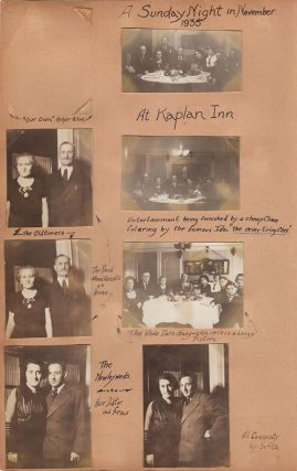 "[Family Album of the ""Kaplan Klan""]."