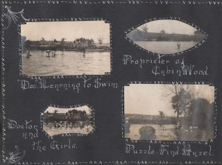 Snap Shots, From The Decatur Fishing Club, Decatur, Clinton, Ill., Dew Drop Inn, and Prudenville, Michigan.