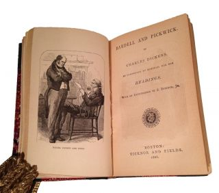 Dickens Readings [spine title].