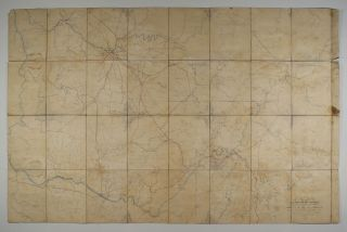 Map of Middle and East Tennessee and Parts of Alabama and Georgia, Compiled From Various Authorities for the Use of the Armies of the Ohio and Cumberland. Capt. Nathaniel Michler, compiler, asst John E. Weyss, draftsman C. S. Mergell.