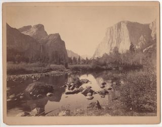 Yosemite Valley, Cal. John Karl Hillers, photographer