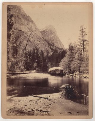 Moore's Cliff, Kings River, Cal. John Karl Hillers, photographer