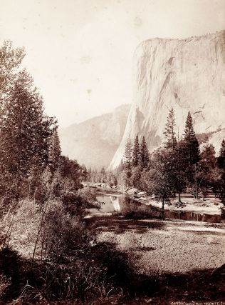 Capitan, Looking West. Yosemite, Cal. John Karl Hillers, photographer