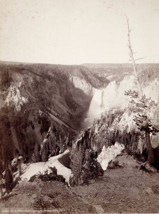 Lower Falls from Point Lookout, Yellowstone Park. John Karl Hillers, photographer