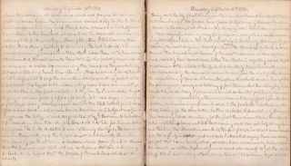 Diary 1859. P. Bonney West Minot, ME. Jan. 18th 1859. P. Bonney