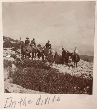 [Photo album documenting the Estes Park, Colorado.]. Frank E. Baker, , anonymous photographers.