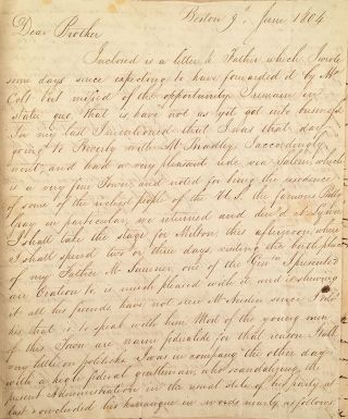 [A volume of manuscript correspondence.]. Jonathan Wells Babcock, , James Babcock.