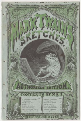 Mark Twain's Sketches. Authorised Edition. With Illustrations by R. T. Sperry. Samuel L....