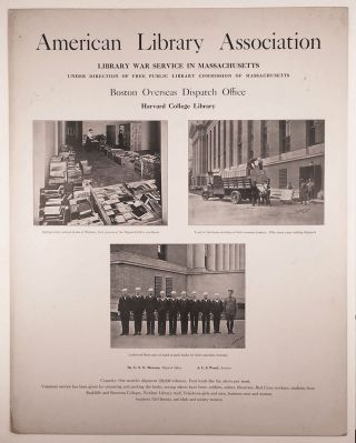 [American Library Association's Library War Service Posters, WWI.]
