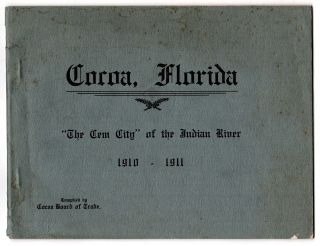 "Cocoa, Florida. ""The Gem City"" of the Indian River. J. M. Sanders."