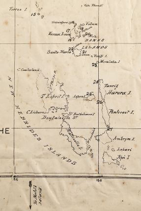 Map Shewing Present Field of the Melanesian Mission.