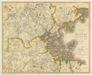 Map of Boston and Vicinity From Actual Survey. John G. Hales